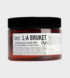 135 Sea Salt Scrub Eucalyptus
