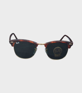 RB3016 Clubmaster Classic Brown