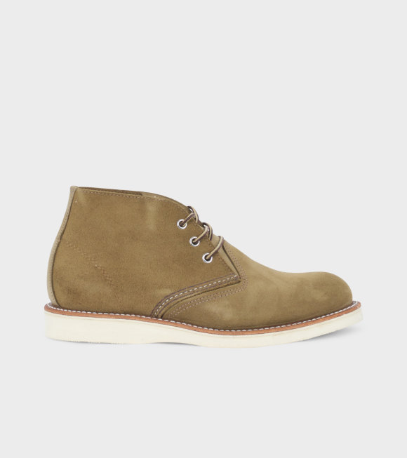 Red Wing Shoes - Classic Chukka Olive Green