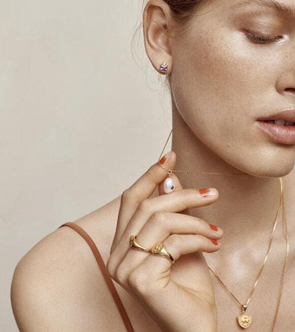 Anni Lu - Baroque Pearl Necklace Opal
