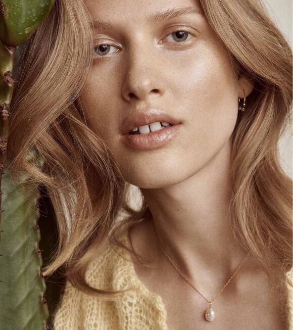 Anni Lu - Baroque Pearl Necklace Ruby