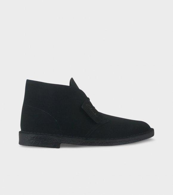 Clarks - Desert Boot Black SDE
