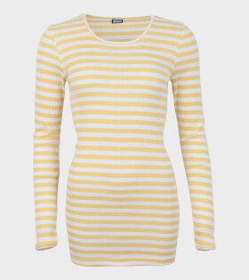 101 Rib Extra Yellow/White