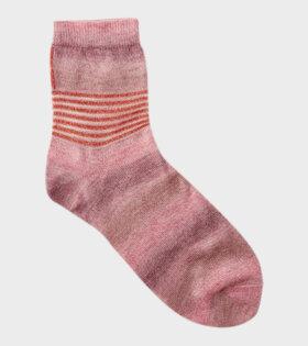 Badelaine Borealis Pink Tie Dye Socks