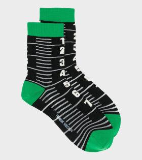 Measuretape Socks Femme