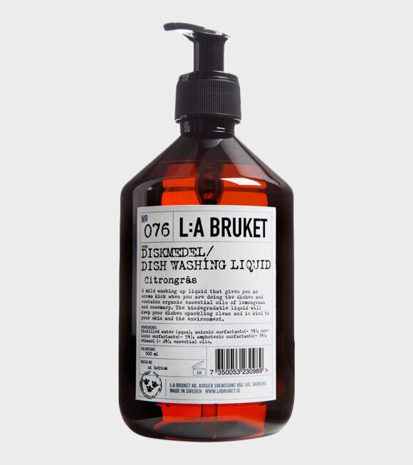 L:A Bruket - Diskmedel Citrongräs/Rosmarin 500ml