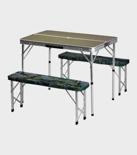 Carhartt WIP Foldable Picnic Set Aluminium - dr.Adams