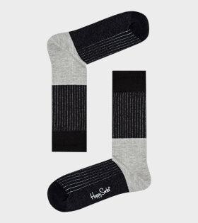 Block Rib Sock