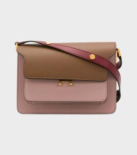 Trunk Bag Brown/Red