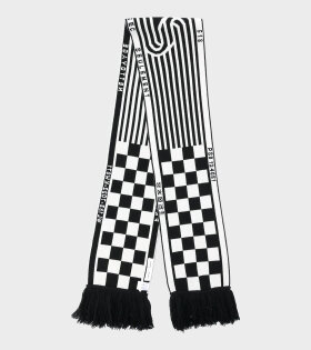 Scarf Off-White/Black