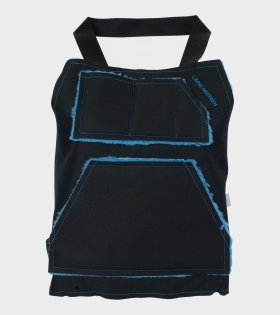 Lærke Andersen Vest Bag Black/Blue - dr. Adams
