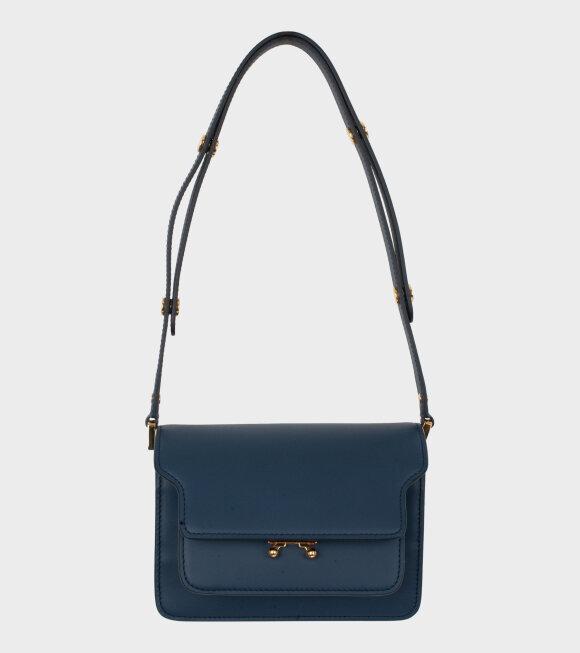 Marni - Mini Trunk Bag Navy