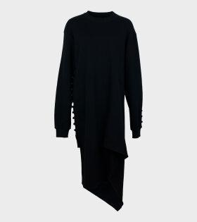 Frog Dress Black