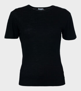 Merino Wool Tee Black