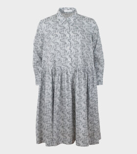Classic Smock Shirt Dress Scribble