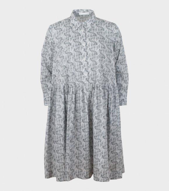 Peter Jensen - Classic Smock Shirt Dress Scribble