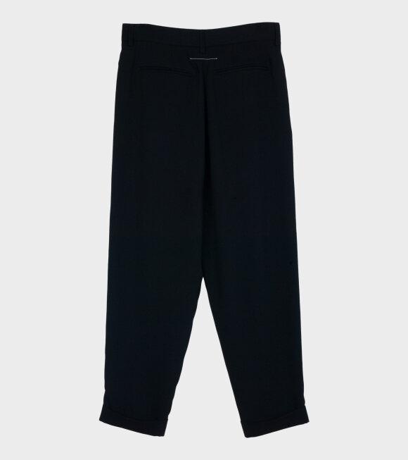 MM6 Maison Margiela - Crop Trousers Black