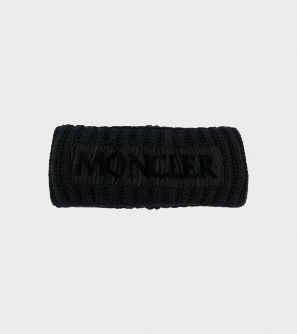 Moncler - Fascetta Tricot Black