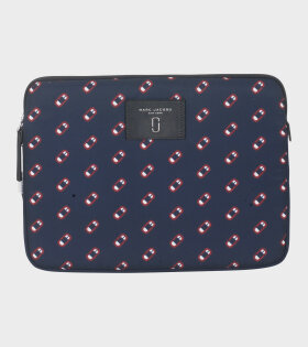 Marc Jacobs - Monogram Scream Case Navy/Red