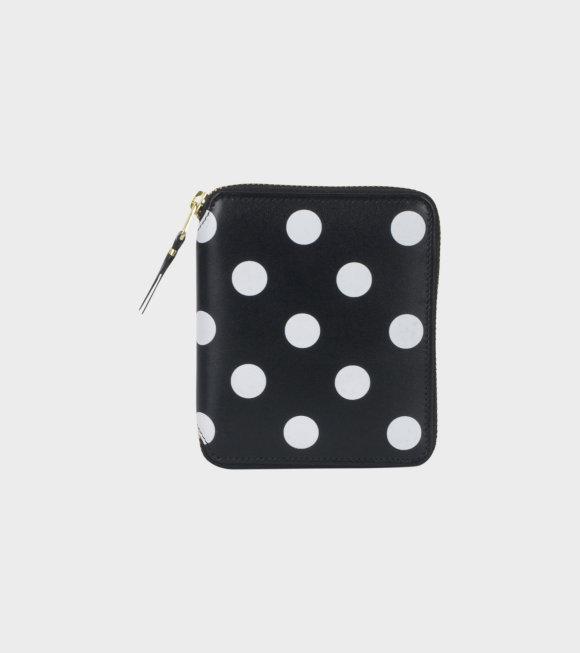 Comme des Garcons Wallet - Dots Wallet High Black/White