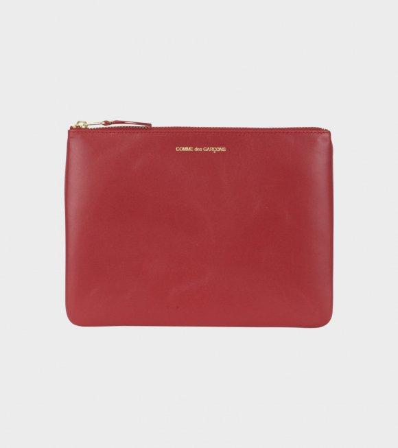 Comme des Garcons Wallet - Classic Clutch Red