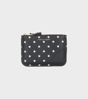 Comme des Garcons Wallet - Dots Wallet Black/White