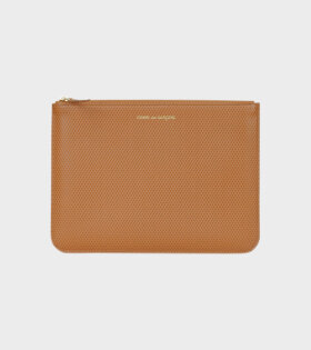 Comme des Garcons Wallet - Luxury Group Clutch Brown+Black