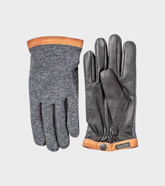 Hestra - Deerskin Wool Tricot Grey
