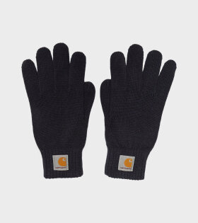 Watch Gloves Navy
