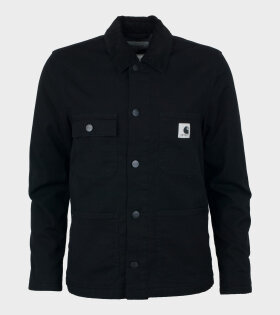 W' Michigan Jacket Black Rinsed