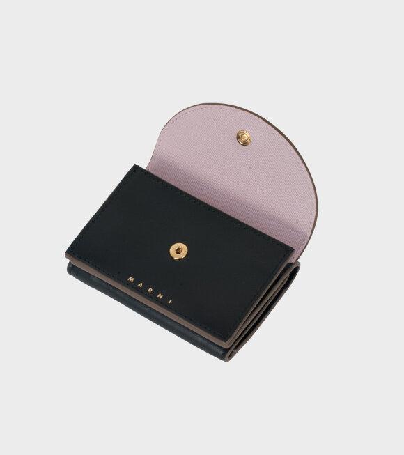 Marni - Wallet Black/Pink