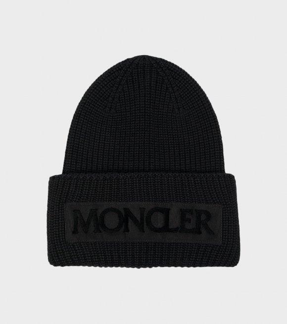 Moncler - Berretto Tricot Black