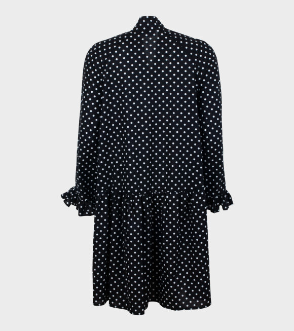Sofie Sol Studio - Short Standard Dress Black/White Dots