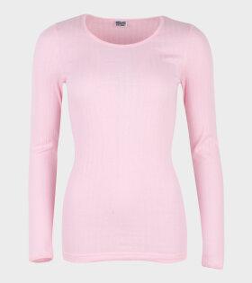 101 Rib Bubblegum Pink