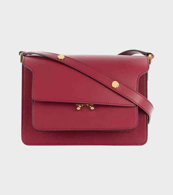 Marni - Medium Trunk Bag Red