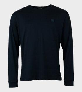 Elwood Face L/S T-shirt Black