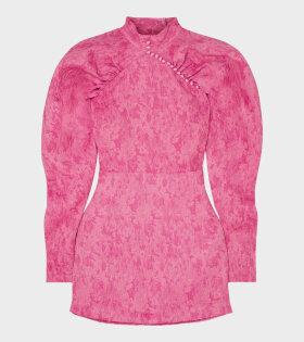 Style 1 - Jacquard Dress Pink