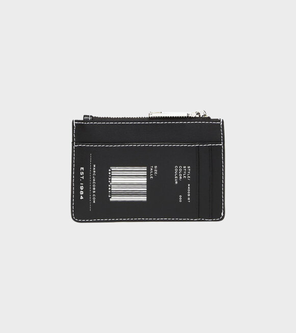 Marc Jacobs - Top Zip Wallet Black
