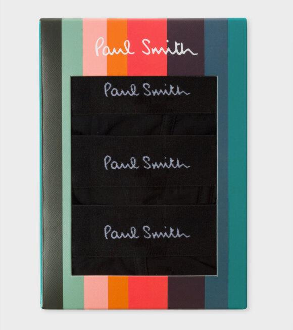 Paul Smith - Mens Boxer Briefs Black