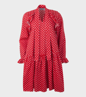 Sofie Sol Studio - Standard Short Dress Dots Red
