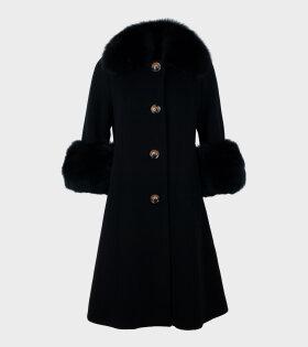 Classic Yvonne Coat Black