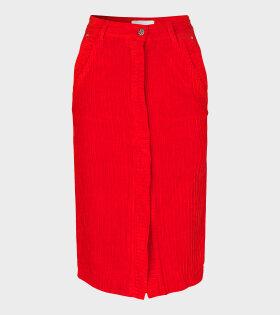 Aja Skirt Scarlet