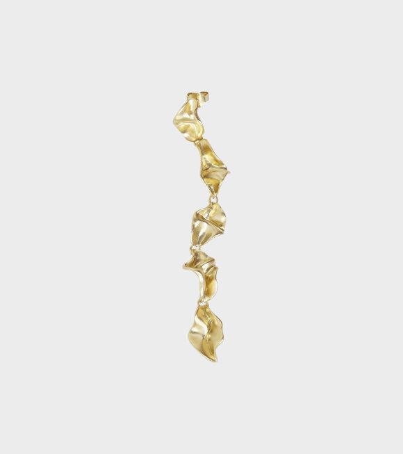 Trine Tuxen - Charlie Earring Gold