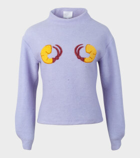 Chinatown Sweater Shrimps Purple