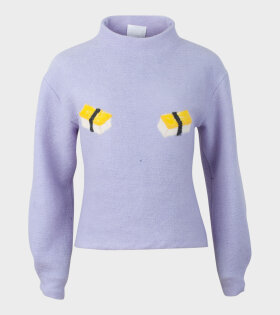 Chinatown Sweater Sushi Purple