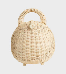 Millie Rattan Bag Natural