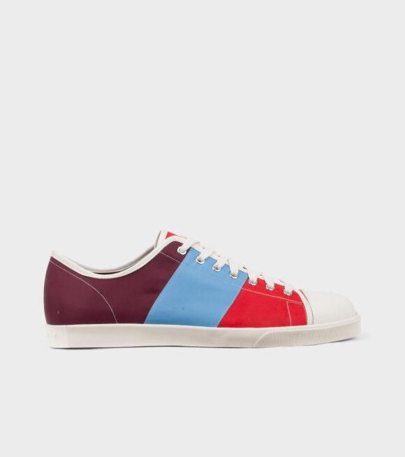 Marni - Techno Jersey Sneakers Multicolour