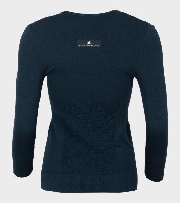 Adidas By Stella McCartney - Seamless LS Mysblue