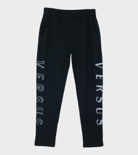 Versus Versace - Sportivo Slim Pants Felpa Black