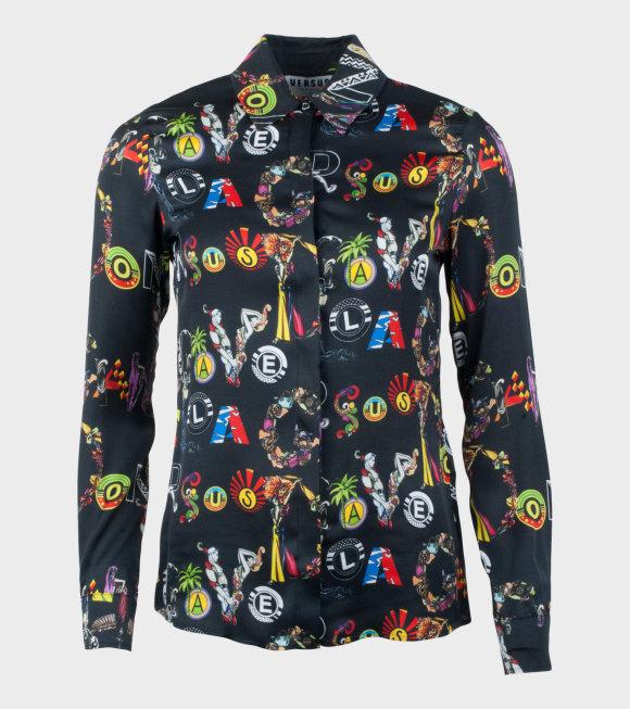 Versus Versace - Camicia Donna Tessuto Shirt Black